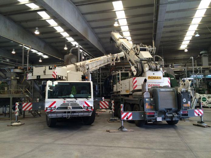 Secadora de 60 toneladas